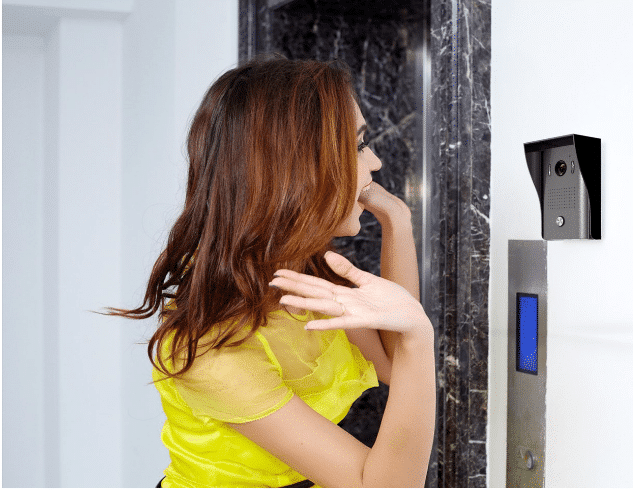 1byone 2.4g wireless video door phone