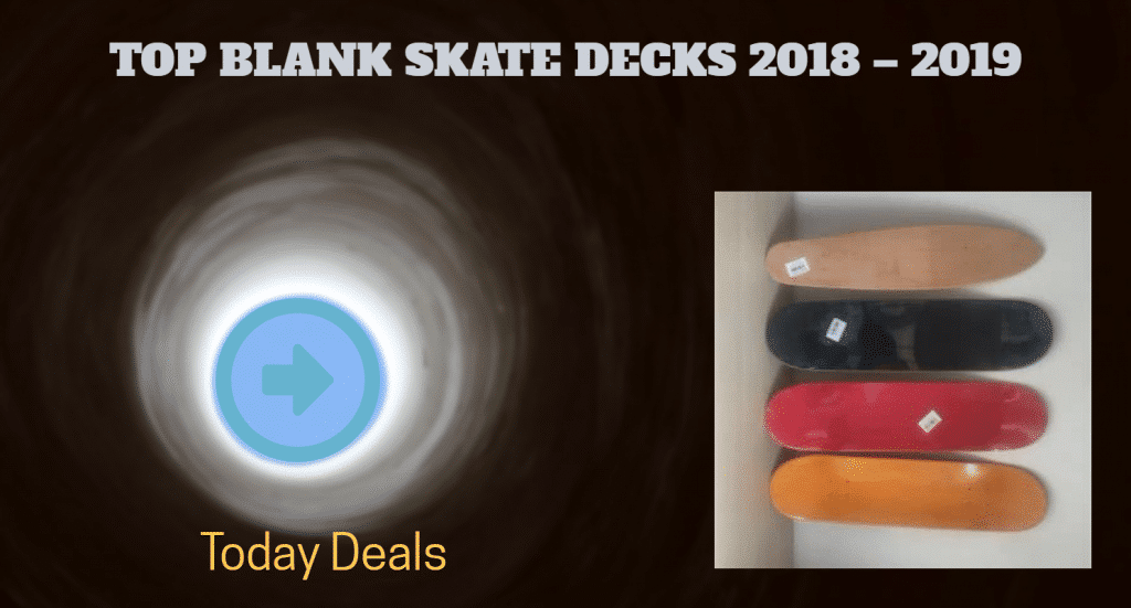 Blank Retro Skate Decks