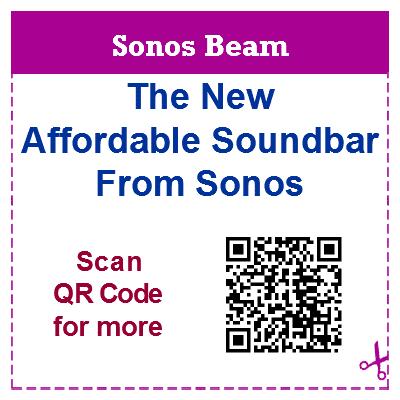 Sonos Beamforming Speaker